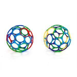 Мячик «Oball» от 0 мес., 15 см.Детские погремушки и подвесные игрушки на кроватку<br>Мячик «Oball» от 0 мес., 15 см.<br>