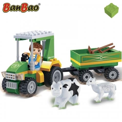 Конструктор Фермерский трактор, 115 деталейИгрушечные тракторы<br>Конструктор Фермерский трактор, 115 деталей<br>