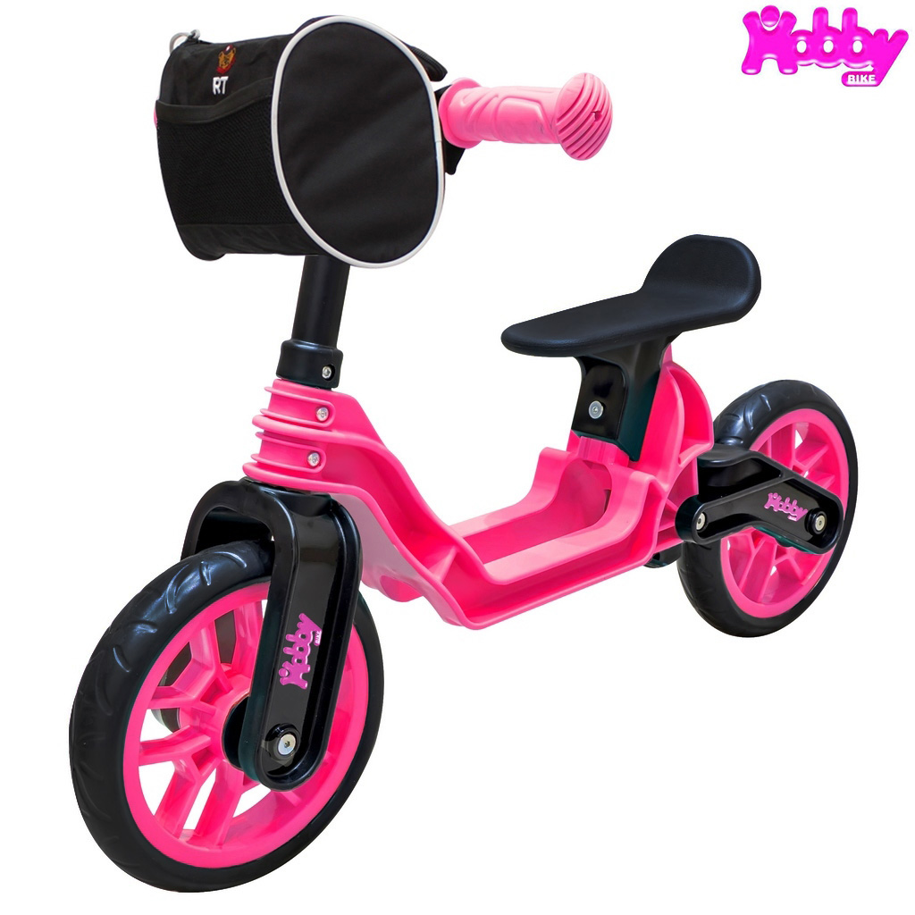 Беговел - Hobby bike Magestic, pink black