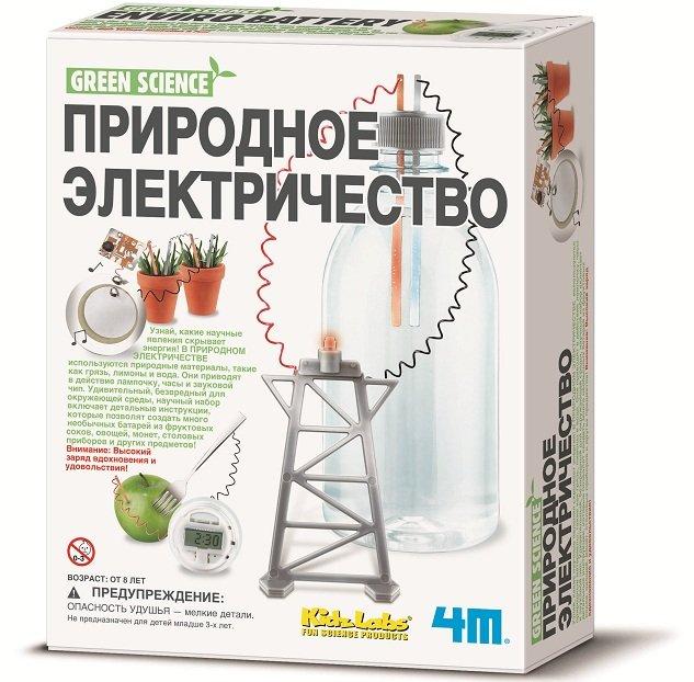 Набор для развития детей - Природное электричествоЮный физик<br>Набор для развития детей - Природное электричество<br>