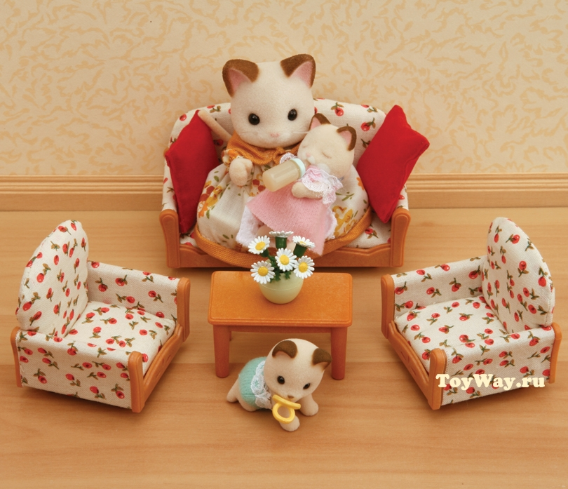 Купить Sylvanian Families - Мягкая мебель для гостиной, Epoch