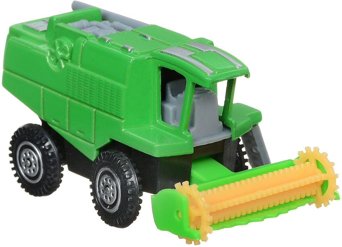 Коллекционная металлическая модель - Комбайн 7,5 смИгрушечные тракторы<br>Коллекционная металлическая модель - Комбайн 7,5 см<br>