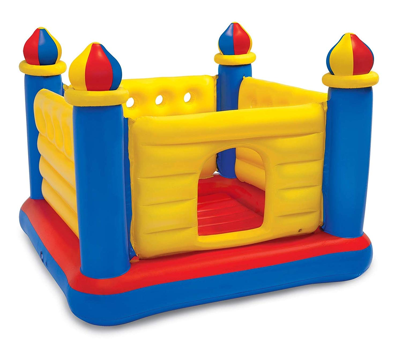 Купить Надувной игровой центр – Замок, 175 х 175 х 135 см., 3-6 лет, Intex