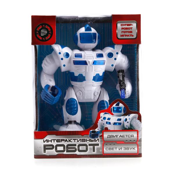 Робот со светом и звуком - Роботы, Воины, артикул: 135534
