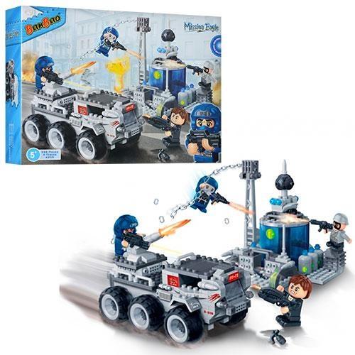 Конструктор – Военная машина, 328 деталейКонструкторы BANBAO<br>Конструктор – Военная машина, 328 деталей<br>