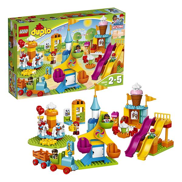 Lego Duplo. Большой парк аттракционов