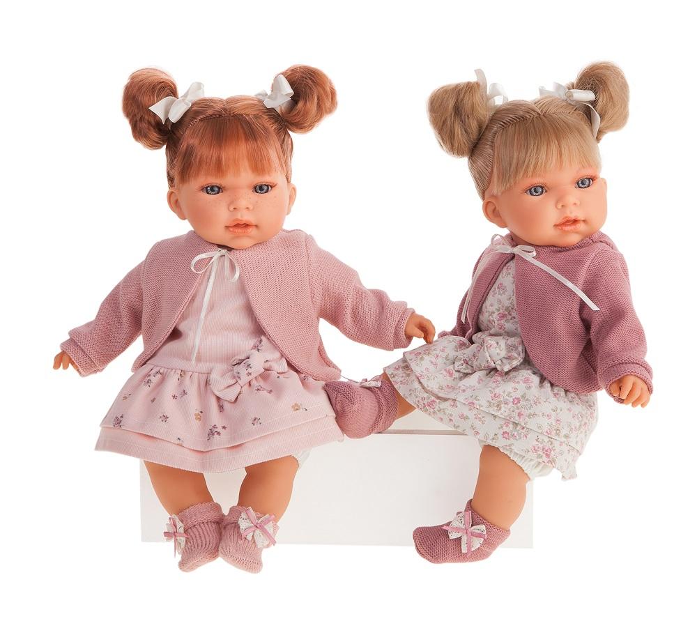 Кукла Альма в фиолетовом, озвученная, 37 см. фото