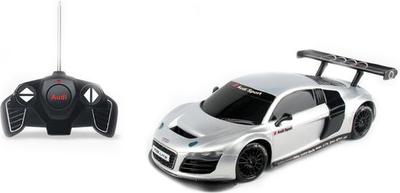 Радиоуправляемая машинка Audi R8, масштаб 1:18Машины на р/у<br>Спорткар Rastar AUDI R8 на пульте дистанционного управления, может ехать вперед-назад, резко поворачивать влево-вправо. Эта машинка - точная копия настоящей модели, поэтому отлично подойдет в качестве подарка и станет любимой игрушкой для малыша.<br>