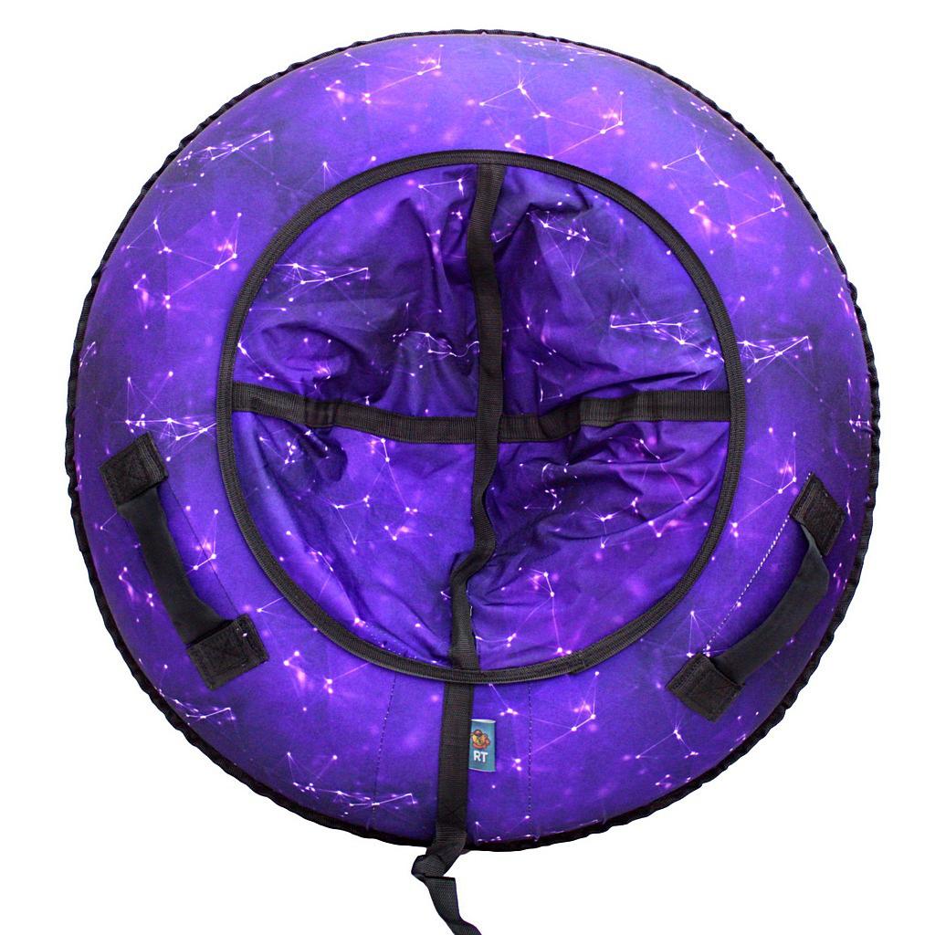 Санки надувные ™RT - Созвездие фиолетовое, диаметр 105 см