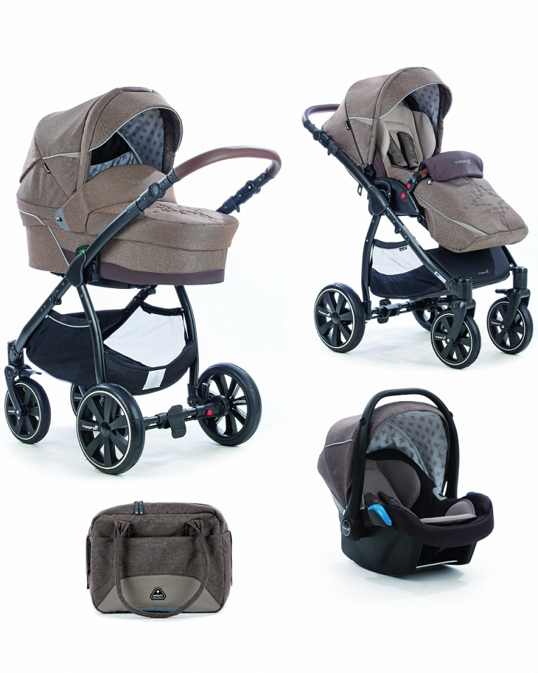 Коляска детская Noordi Polaris Comfort 3 в 1, цвет – FalconДетские коляски 3 в 1<br>Коляска детская Noordi Polaris Comfort 3 в 1, цвет – Falcon<br>