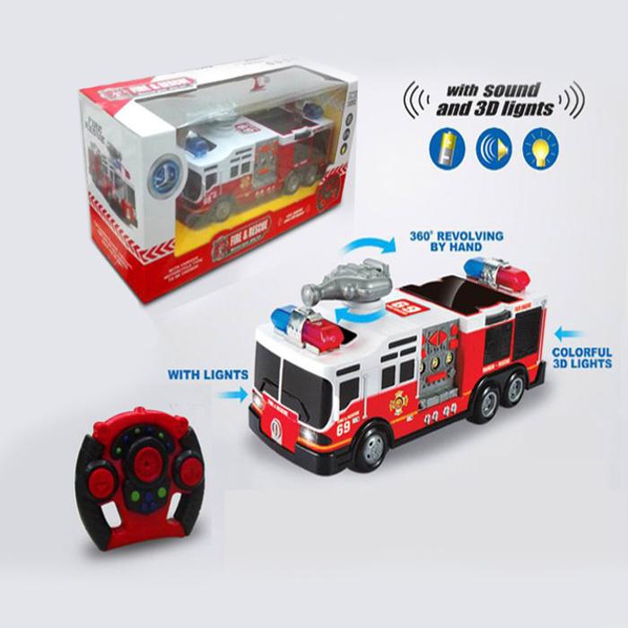 Радиоуправляемая машина - ПожарнаяМашины на р/у<br>Радиоуправляемая машина - Пожарная<br>