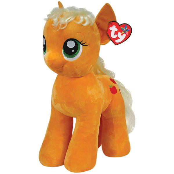 Мягкая Пони Эппл Джек, 70 см.Моя маленькая пони (My Little Pony)<br>Мягкая Пони Эппл Джек, 70 см.<br>