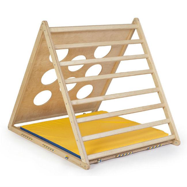 Деревянный игровой комплекс Kidwood ТреугольникСпортивные комплексы<br>Деревянный игровой комплекс Kidwood Треугольник<br>