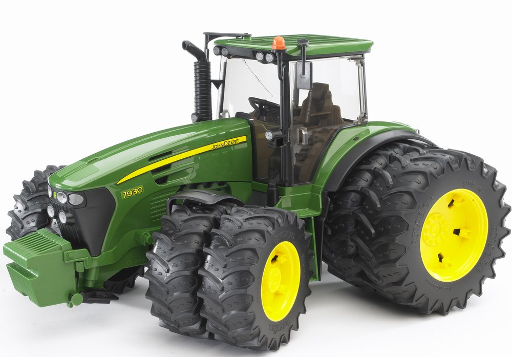Трактор Bruder John Deere 7930 с двойными колёсамиИгрушечные тракторы<br>Трактор Bruder John Deere 7930 с двойными колёсами<br>