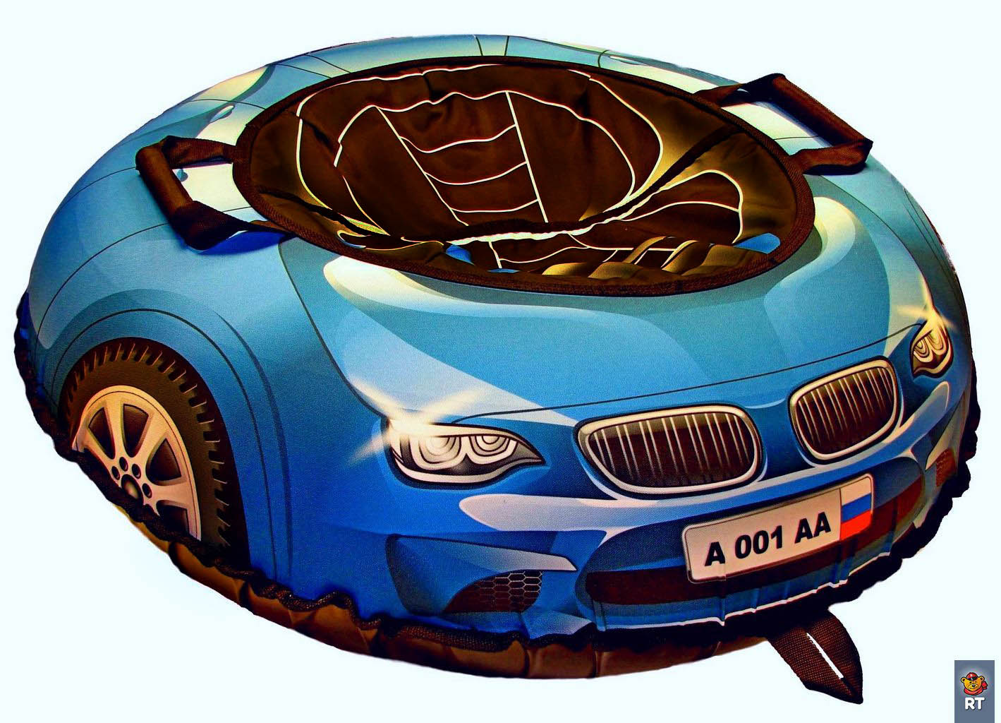 Тюбинг из серии Эксклюзив - Super Car Bmw, синий, диаметр 100 см