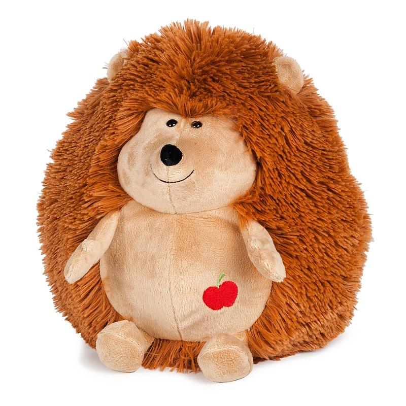 Мягкая игрушка – Упитанный ежик, 24 см, звук - Говорящие игрушки, артикул: 165928