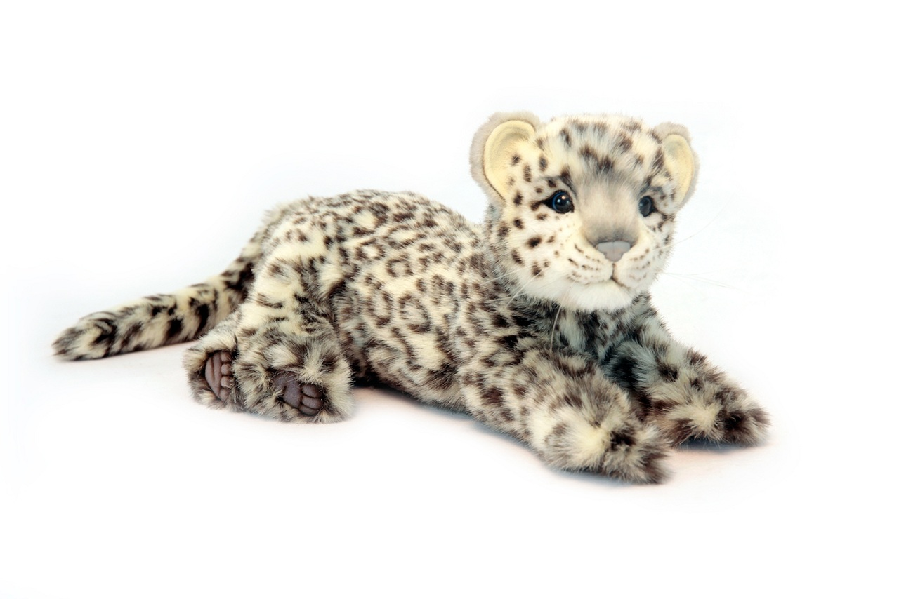 Мягкая игрушка - Леопард лежащий, 56 смДикие животные<br>Мягкая игрушка - Леопард лежащий, 56 см<br>
