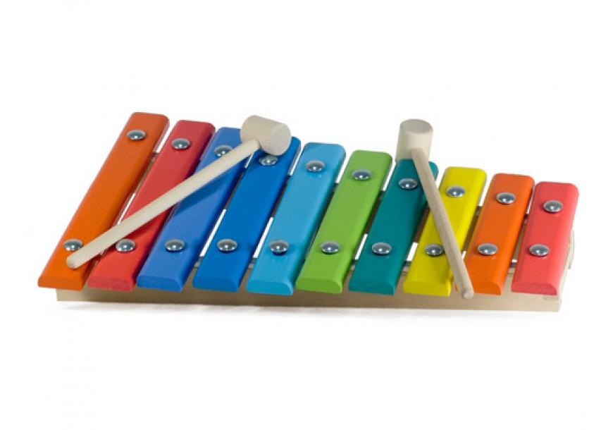 Ксилофон деревянный, 10 нотКсилофоны<br>Ксилофон деревянный, 10 нот<br>