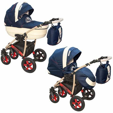 Детская коляска – Camarelo Carmela 2 в 1, CR-12Детские коляски 2 в 1<br>Детская коляска – Camarelo Carmela 2 в 1, CR-12<br>
