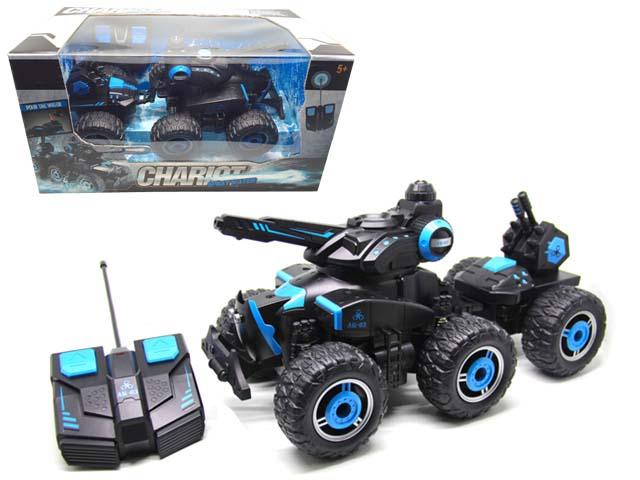 Радиоуправляемая машина с прицепом Chariot, стреляет водойМашины на р/у<br>Радиоуправляемая машина с прицепом Chariot, стреляет водой<br>