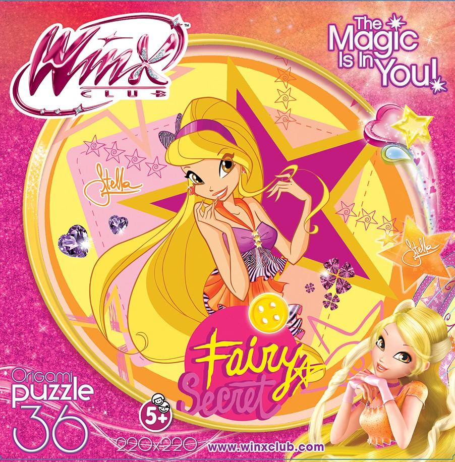 Купить Паззл Винкс My Fairy Dairy - Стелла 36 элементов, Origami