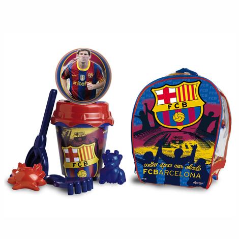 Песочный набор в рюкзаке Барселона с лейкойВсе для песочницы<br>Песочный набор в рюкзаке Барселона с лейкой<br>