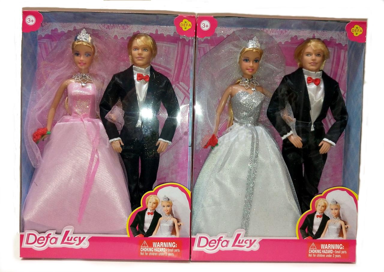 Свадебный набор Lucy - Жених и невестаКуклы Defa Lucy<br>Свадебный набор Lucy - Жених и невеста<br>