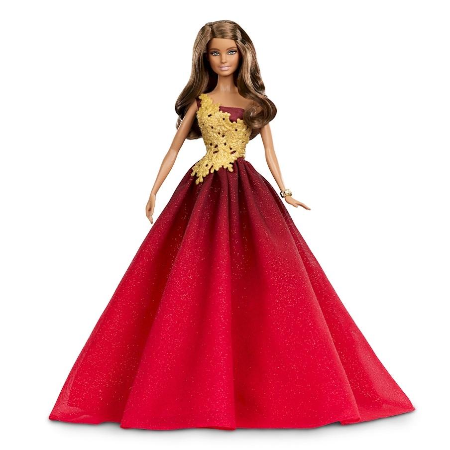 Праздничная Barbie® в красном платьеКуклы Barbie (Барби)<br>Праздничная Barbie® в красном платье<br>
