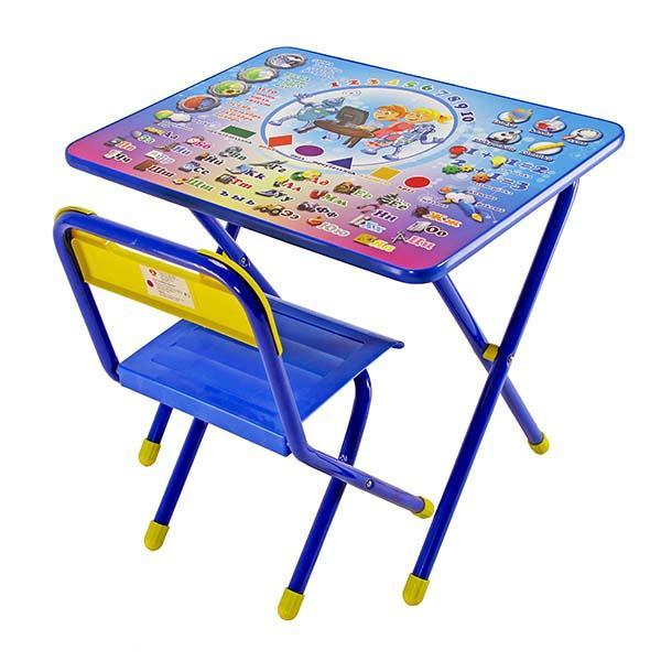 Набор детской мебели №1 Электроник, голубой Э)Игровые столы и стулья<br>Набор детской мебели №1 Электроник, голубой Э)<br>