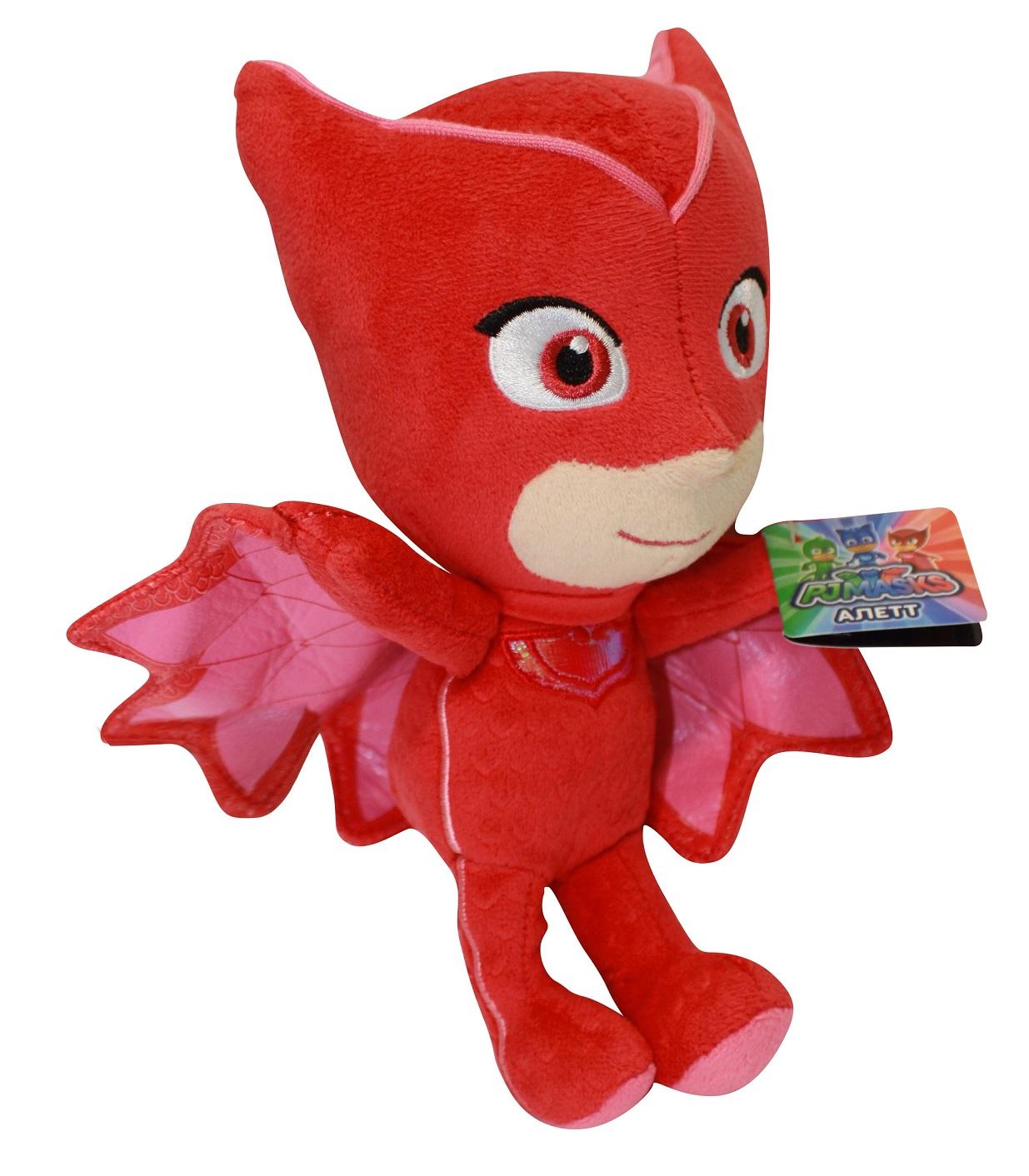 Мягкая игрушка Алетт из серии Герои в масках, 20 см.Герои в масках PJ Masks<br>Мягкая игрушка Алетт из серии Герои в масках, 20 см.<br>
