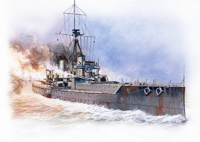 Модель для склеивания  Линейный Корабль Дредноут - Модели для склеивания, артикул: 98788