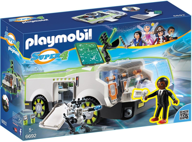 Игровой набор из серии Супер 4  Техно Хамелеон с Джином - Конструкторы Playmobil, артикул: 159266