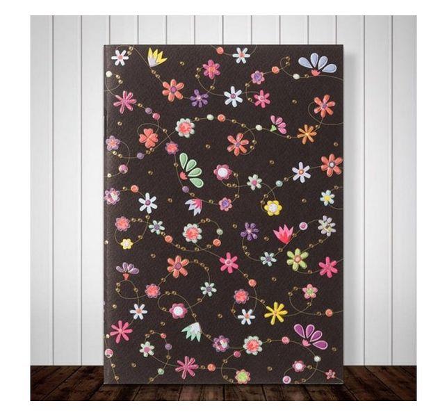 Блокнот с дизайном Цветы, 16 листов фото