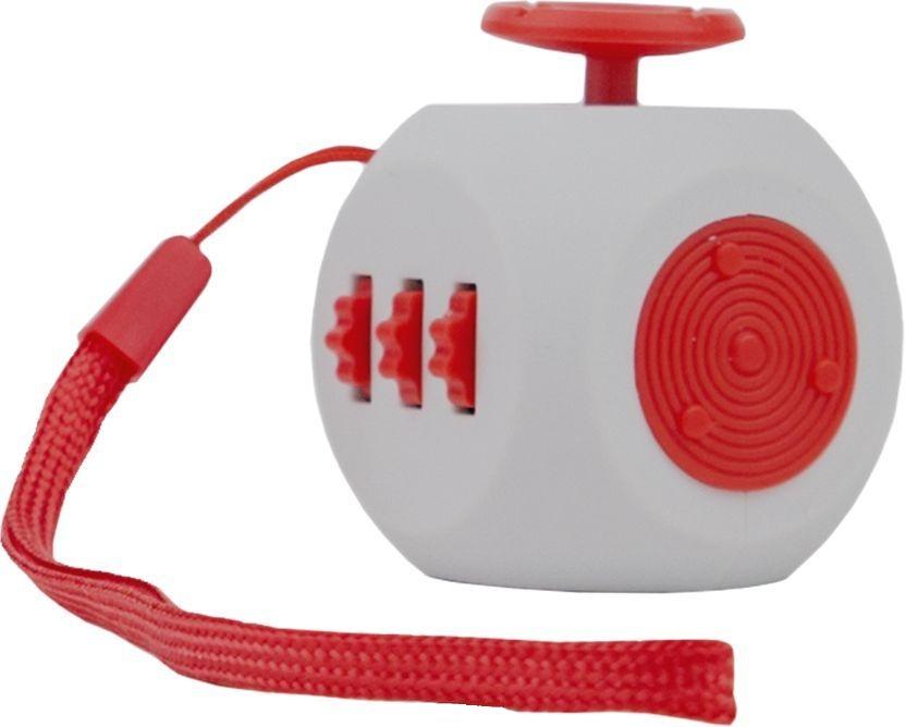 Игрушка антистресс - FidgetCube 3.0 Air, серо-красныйАнтистресс кубики Fidget Cube<br>Игрушка антистресс - FidgetCube 3.0 Air, серо-красный<br>