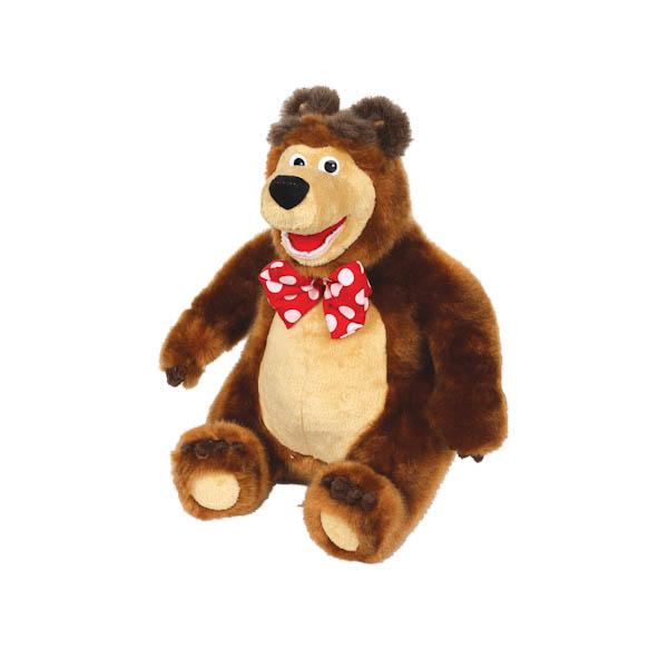 Мягкая игрушка Мишка из мультфильма «Маша и медведь», озвученный - Маша и медведь игрушки, артикул: 131340