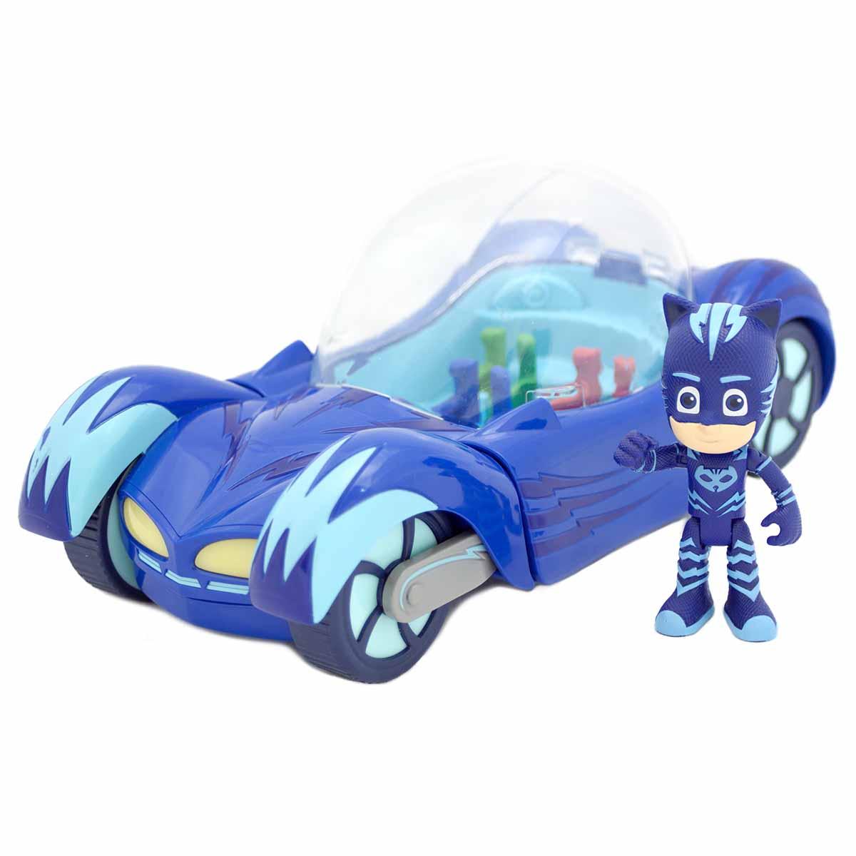 Игровой набор PJ Masks – Кэтмобиль, свет и звукГерои в масках PJ Masks<br>Игровой набор PJ Masks – Кэтмобиль, свет и звук<br>