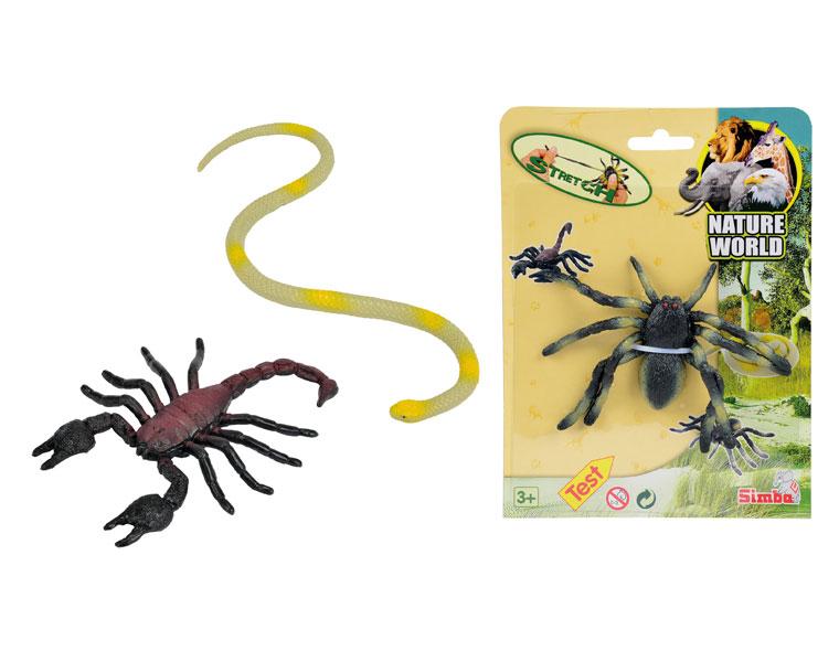 Мини-животные стрейчевые. 3 видаИгровые наборы Зоопарк, Ферма<br>Мини-животные стрейчевые. 3 вида<br>