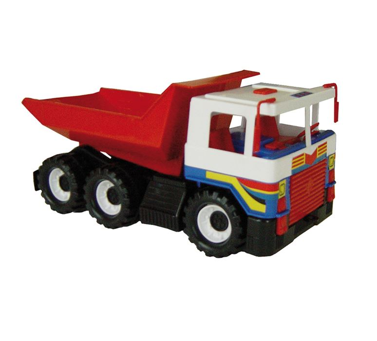 Яркий самосвал с подвижным кузовомВсе для песочницы<br>Яркий самосвал с подвижным кузовом<br>