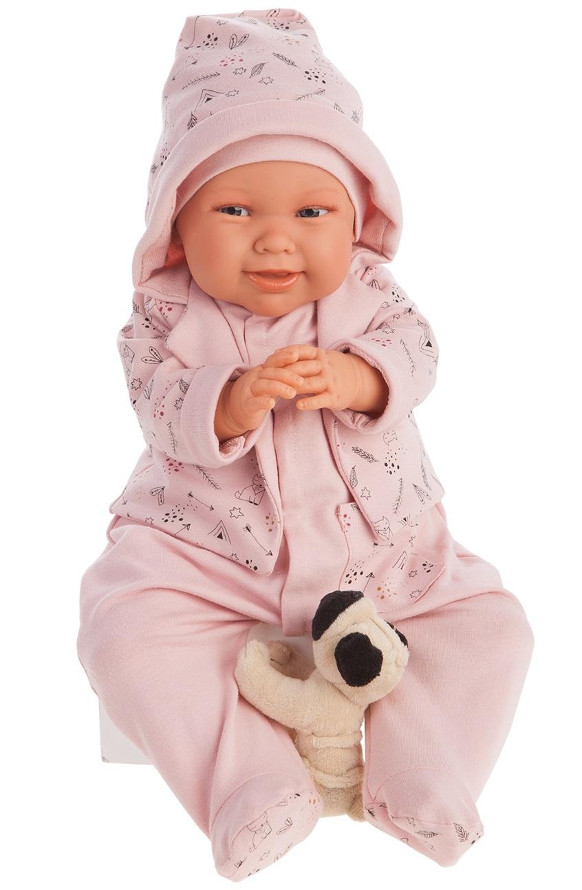 Купить Интерактивная кукла - Мартина в капюшоне, 52 см, Antonio Juans Munecas