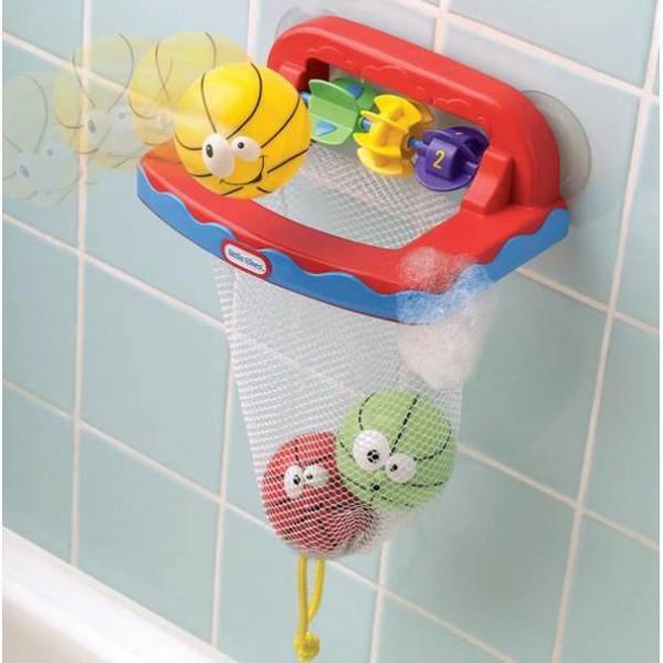 Детский набор для игр в ванной БаскетболИгрушки для ванной<br>Детский набор для игр в ванной Баскетбол<br>