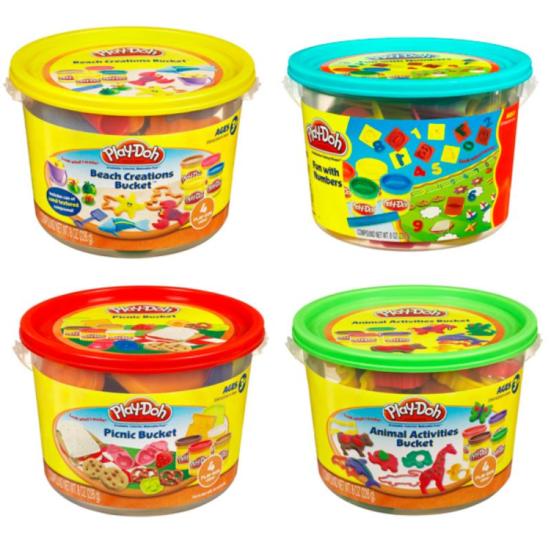 Play Doh Hasbro. Игровой набор Ведерочко - Пластилин Play-Doh, артикул: 154765