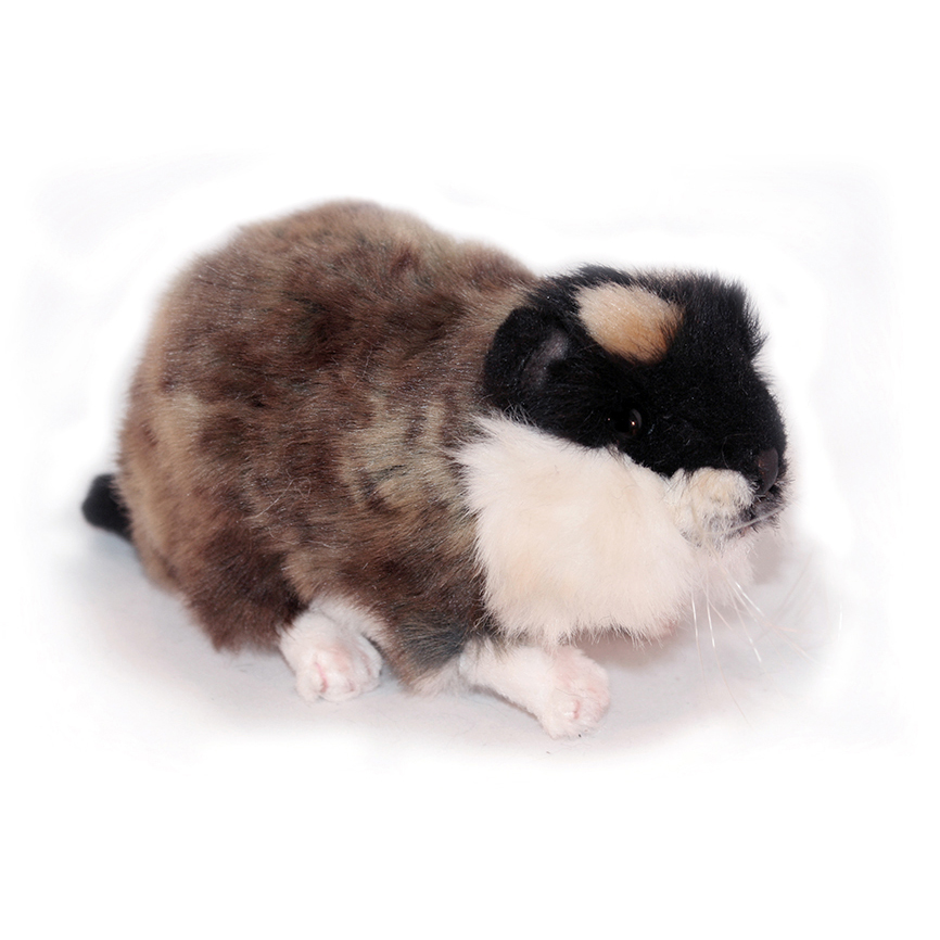 Мягкая игрушка – Норвежский лемминг, морская свинка, 16 см.Животные<br>Мягкая игрушка – Норвежский лемминг, морская свинка, 16 см.<br>