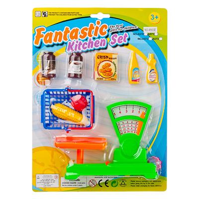 Весы с продуктами, корзиной и аксессуарамиДетская игрушка Касса. Магазин. Супермаркет<br>Весы с продуктами, корзиной и аксессуарами<br>