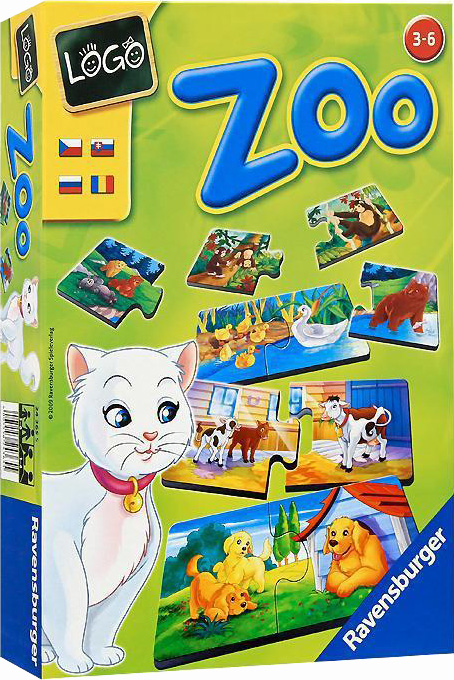 Настольная игра Лого ЗооРазвивающие<br>Настольная игра Лого Зоо<br>