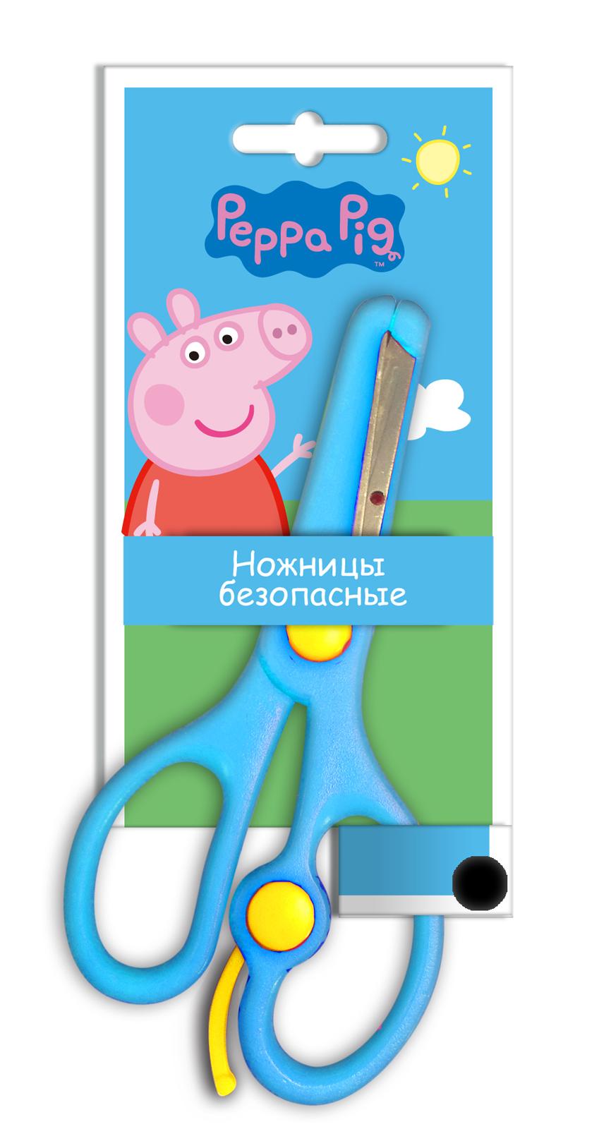 Ножницы безопасные из серии Свинка ПеппаНожницы, линейки, ластики<br>Ножницы безопасные из серии Свинка Пеппа<br>