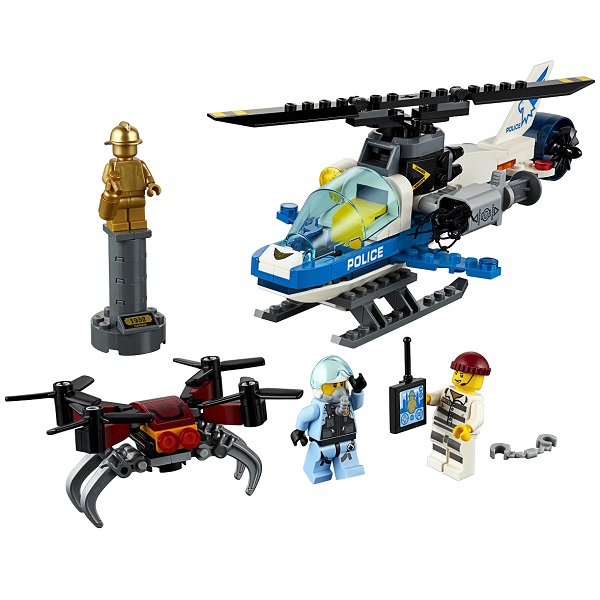 Конструктор Lego City Police - Воздушная полиция: погоня дронов фото
