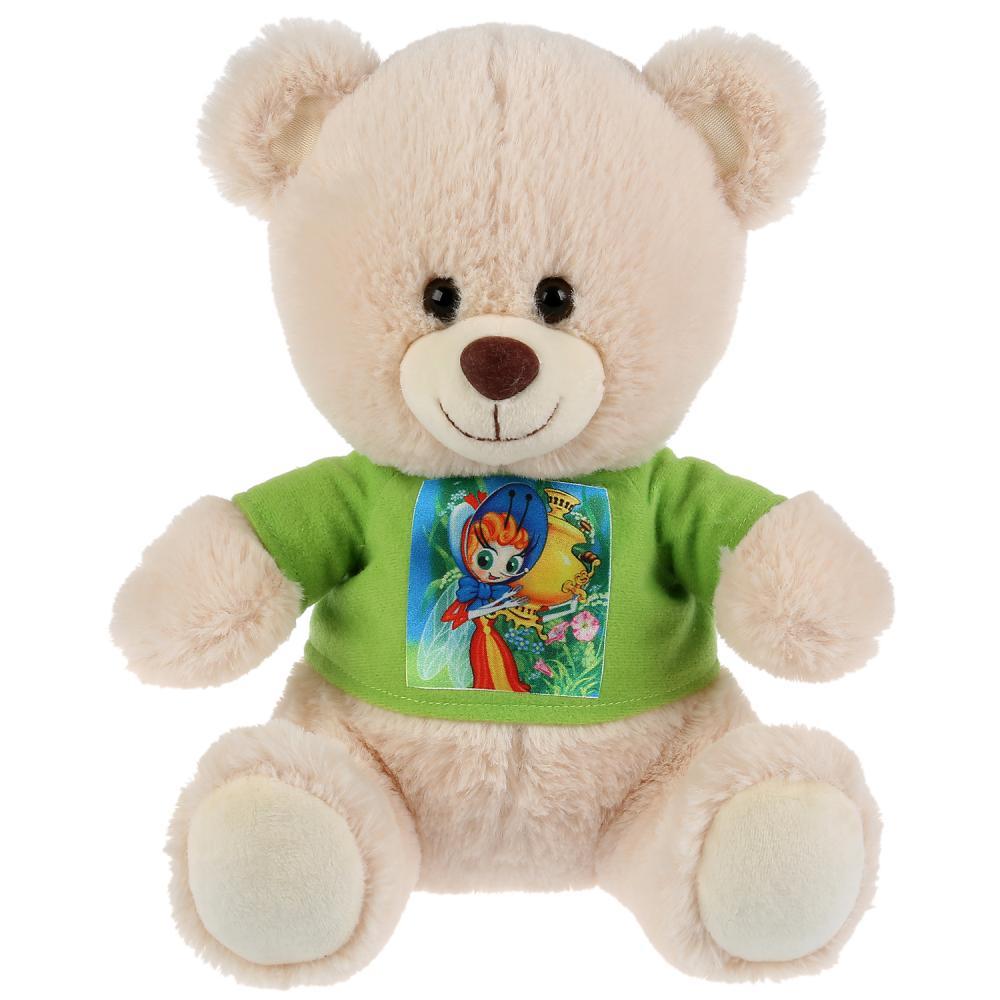 Купить Музыкальная мягкая игрушка – Мишка, стихи К. Чуковский, 25 см, Мульти-Пульти