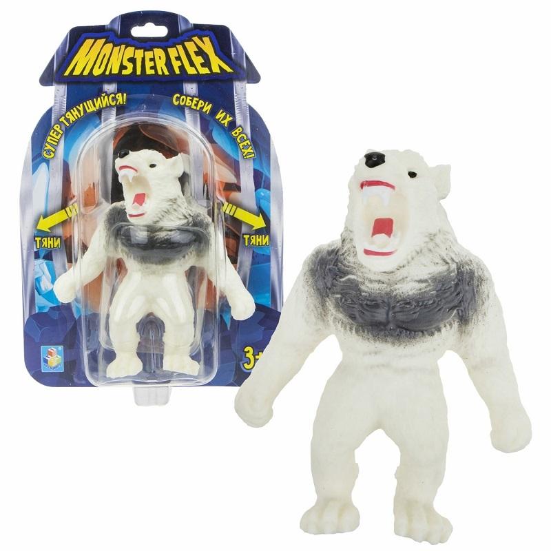 Купить Тянущаяся фигурка Monster Flex – Арктический Оборотень, 15 см, 1TOY