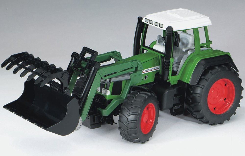 Трактор Bruder Fendt Favorit 926 Vario с погрузчикомТракторы и комбайны<br>Трактор Bruder Fendt Favorit 926 Vario с погрузчиком<br>