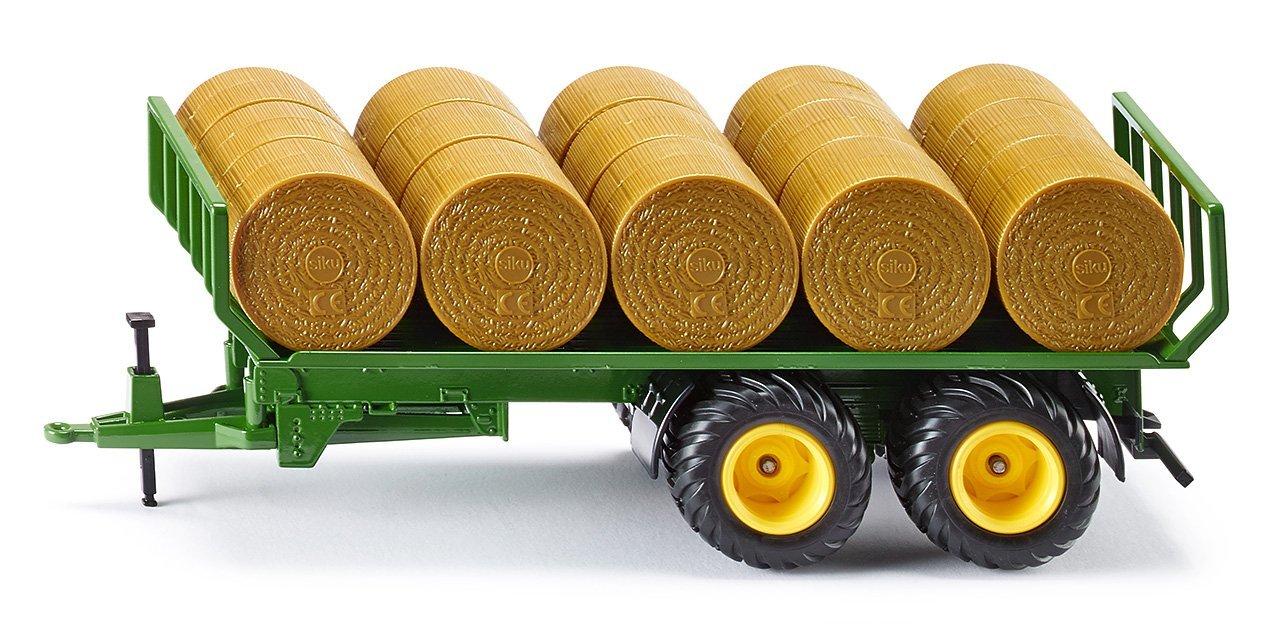Прицеп для перевозки круглых кип, 1:32Игрушечные тракторы<br>Прицеп для перевозки круглых кип, 1:32<br>